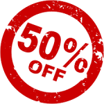 50% Discount Coupon