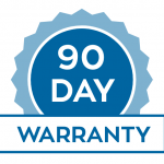 90 day warranty on labour and parts by appliance repair technicians